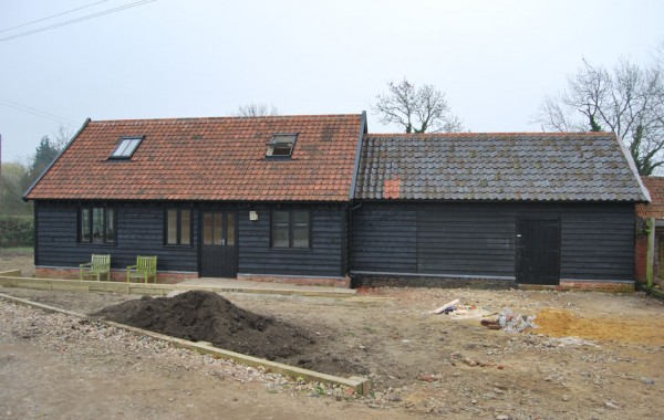 Detached two storey annex accommodation and workshop