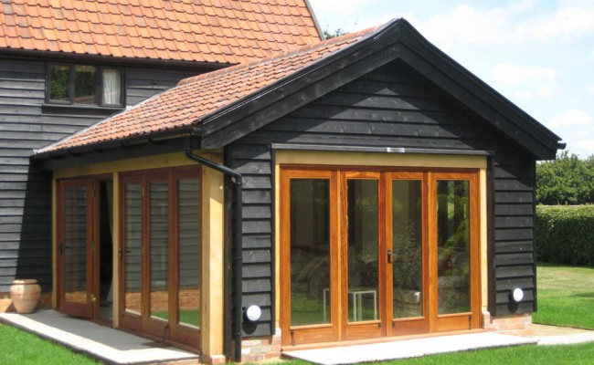 Single Storey Extension On Grade II Listed Barn ARCHITECTURAL BUILDING DESIGN SERVICES