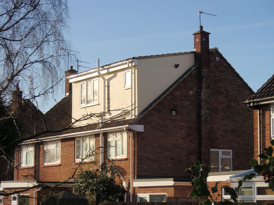 Loft Conversion And Catslide Roof Dormer ARCHITECTURAL BUILDING DESIGN SERVICES