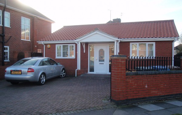 New two bedroom bungalow on infill corner plot granted on appeal