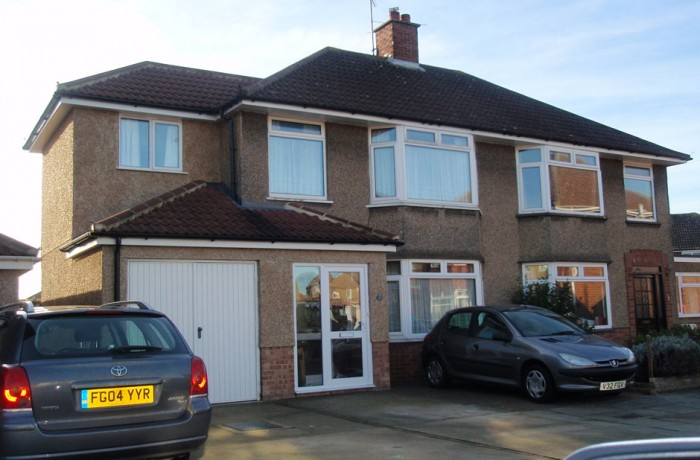 Part two storey and single storey side extension