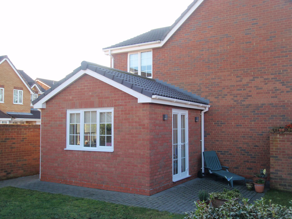 Single Storey Side Extension To Form Childrens Playroom