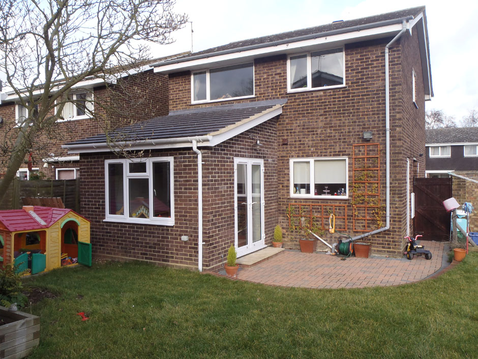 Single Storey Extension Architectural Building Design