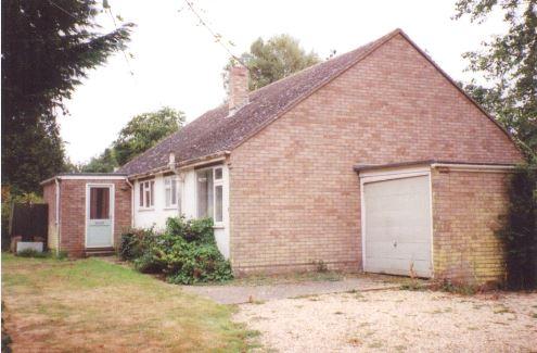 Existing – Garden Cottage