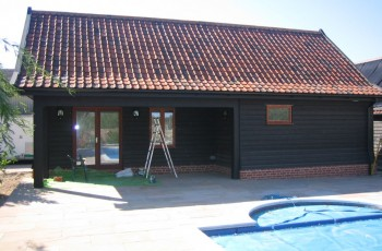Summer House and Pool Room