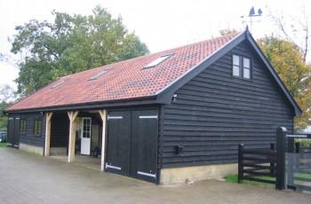 Garage/Workshop with Studio above