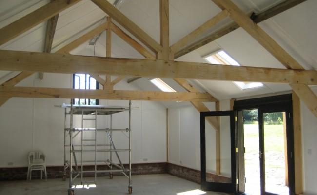Detached home gym architectural building design services