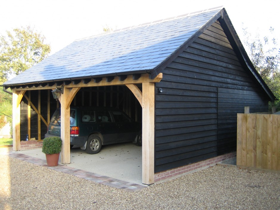 Two bay open cartlodge architectural building design for 2 bay carport