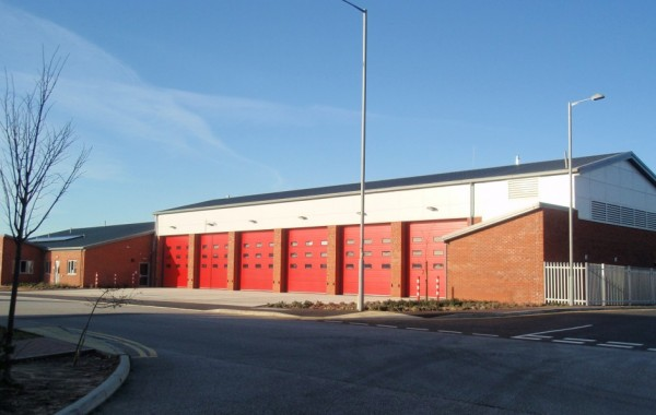New six bay Fire Station