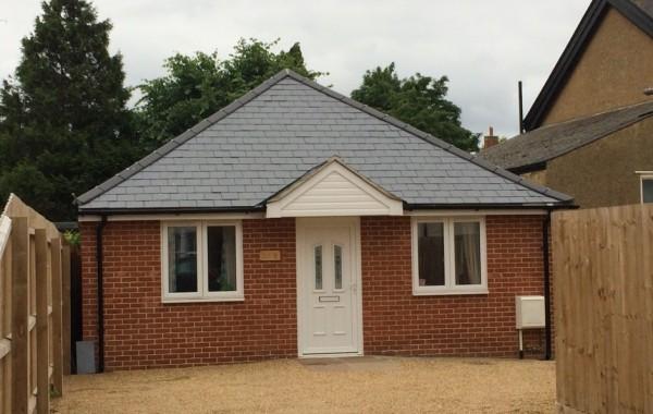 Proposed detached bungalow
