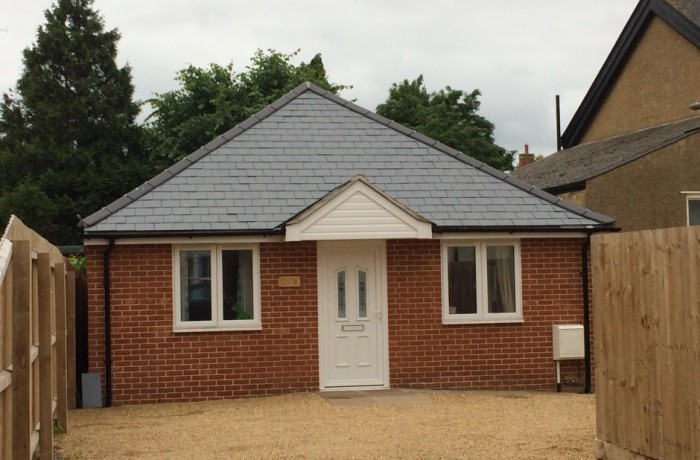 Proposed detached bungalow