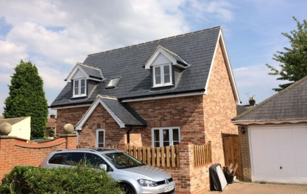 Detached two bedroom house