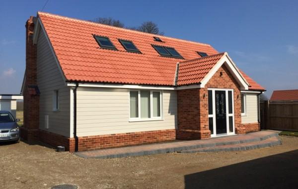 New detached chalet style bungalow
