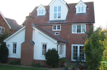 Loft conversion with dormers