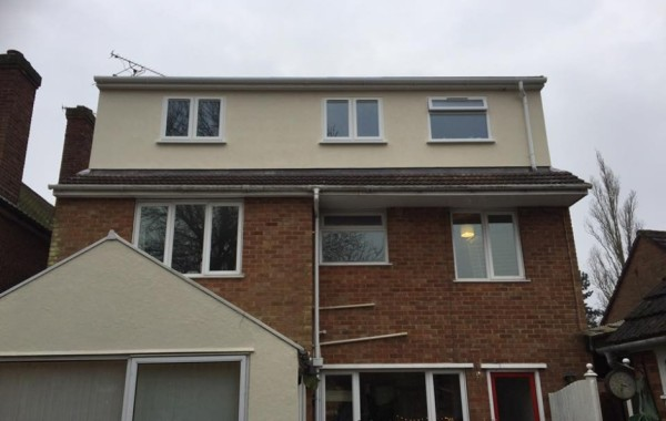 Loft conversion and dormer