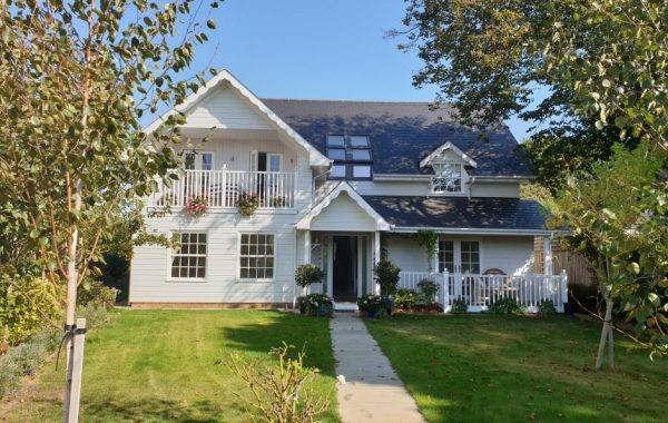 Detached dwelling – New England style design influence